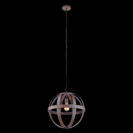 49476 Westbury 1 Light Ceiling Pendant Rustic