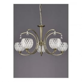 FL2340/5 Omni 5 Light Ceiling Light Light Bronze