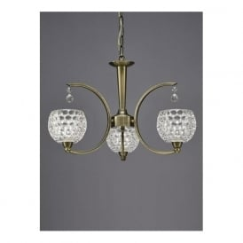 FL2340/3 Omni 3 Light Ceiling Light Light Bronze