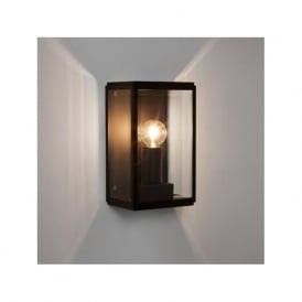 7590 Homefield 130 Outdoor Wall Light Black IP44