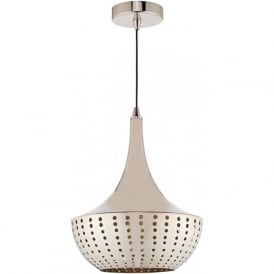 DOT0163 Dot 1 Light Pendant Bronze