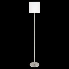 95164 Pasteri 1 Light Floor Lamp White