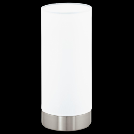 95118 Pasteri 1 Light Touch Table Lamp White