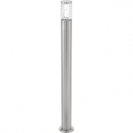 94132 Fontacina LED IP44 Post Lamp Stainless Steel