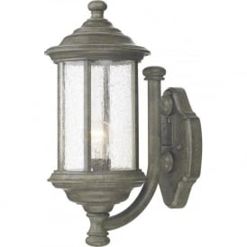 BRO1661 Brompton 1 Light Outdoor Wall Light IP43 Old Iron