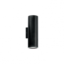 84003 Riga 2 light modern outdoor wall light anthracite finish ip44 rated