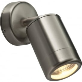 ST5010S Odyssey Outdoor IP65 1 Light Wall Light Brushed Stainless