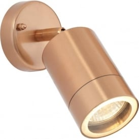 ST5010C Odyssey Outdoor IP44 1 Light Wall Light Copper
