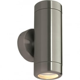 ST5008S Odyssey Outdoor IP65 2 Light Wall Light Brushed Stainless