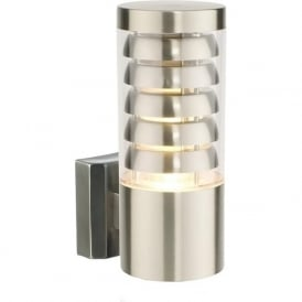 13921 Tango 1 Light LED Wall Light Brushed Stainless Steel IP44
