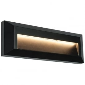 61214 Severus LED Wall Light IP65 Black