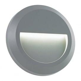 EL-40109 Severus Round LED Wall Light IP65 Grey