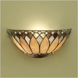 63983 Brooklyn 1 Light Tiffany Wall Light