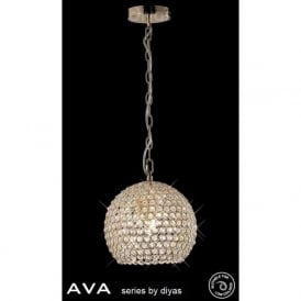 IL30751 Ava 4 Light Pendant French Gold