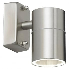 EL-40094 Canon 1 Light Outdoor Wall Spotlight Stainless Steel IP44