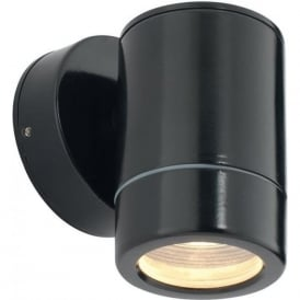 ST5009BK Odyssey Outdoor IP65 1 Light Wall Light Black