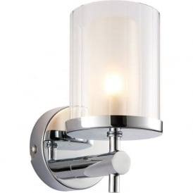 51885 Britton 1 Light Bathroom Wall Light Light IP44 Chrome