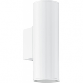 94101 Riga 2 Light LED IP44 Wall Light White