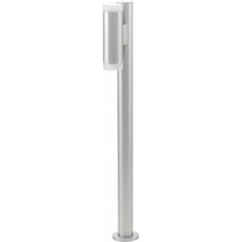 92738 Riga LED 2 Light LED IP44 Post Lamp Stainless Steel