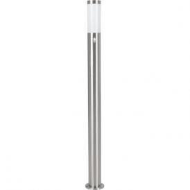 83281 Helsinki 1 Light Motion Sensor Post Lamp Stainless Steel