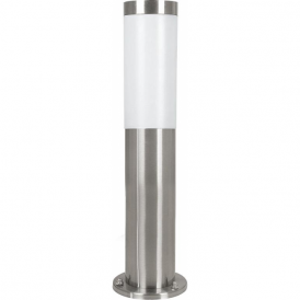 81751 Helsinki 1 Light IP44 Post Lamp Stainless Steel