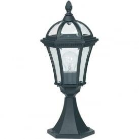 YG-3502 Drayton Outdoor 1 Light Small Post Lamp Black IP44