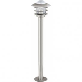 30183 Mouna 1 Light IP44 Post Lamp Stainless Steel