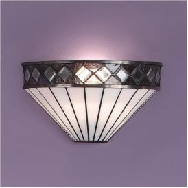 64149 Fargo 1 Light Tiffany Wall Light