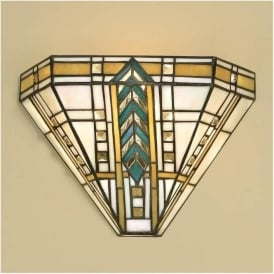 64243 Lloyd 1 Light Tiffany Wall Light