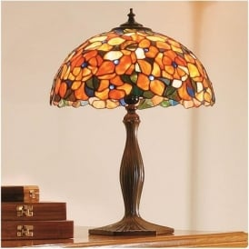 64209 Josette 1 Light Tiffany Table Lamp