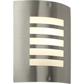 ST031F Bianco Outdoor Wall Light Stainless Steel IP44