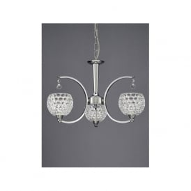 FL2339/3 Omni 3 Light Ceiling Light Light Polished Chrome