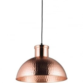 EH-PARINA Parina 1 Light Ceiling Pendant Copper