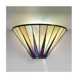 64046 Dark Star 1 Light Tiffany Wall Light