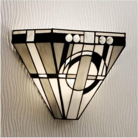 64267 Metropolitan 1 Light Tiffany Wall Light