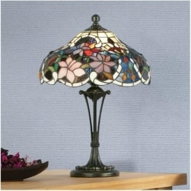 64327 Sullivan 2 Light Small Tiffany Table Lamp