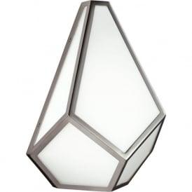 Feiss FE/DIAMOND1 Diamond 1 Light Wall Light Polished Nickel