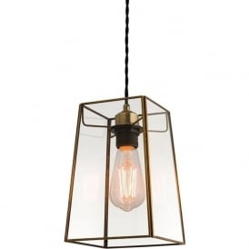 60892 Beaumont Non-electric Pendant Glass