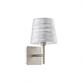 94308 Fonsea 1 Light Wall Light White Silver