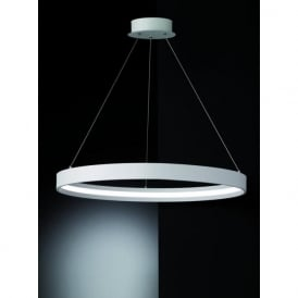 PCH119 Hollo LED Ceiling Pendant Ivory (Large)