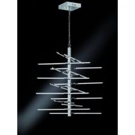 FL2354/16 Styx LED Ceiling Pendant Polished Chrome