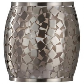 Feiss FE/ZARA1 Zara 1 Light Wall Light Brushed Steel