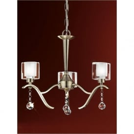 FL2165/3 Theory 3 Light Ceiling Light Bronze