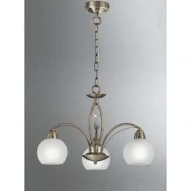 FL2278/3 Thea 3 Light Ceiling Light Bronze