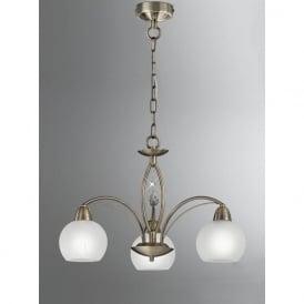 FL2278/3 Thea 3 Light Ceiling Light Bronze