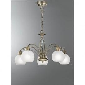 FL2278/5 Thea 5 Light Ceiling Light Bronze