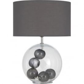 3821-GR-C Watson 1 Light Table Lamp Grey