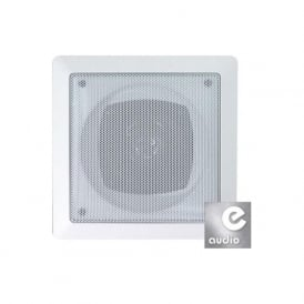 Audio6 OCE6-8/SQ White 6.5 Inch 120 Watt Dual 8 Ohm Ceiling Speaker (Pair)