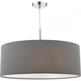 RON1739 Ronda 3 Light Ceiling Pendant Grey