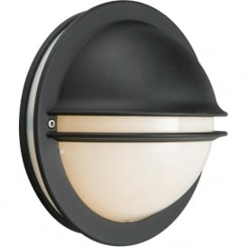 Norlys BERLIN/E27/BLK/O Berlin Outdoor 1 Light Wall Light Black IP54